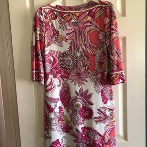 Donna Morgan Pink Pucci Style dress size 8